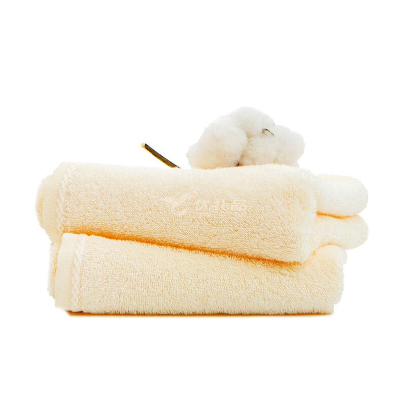 初愛輕悅系列新疆長絨棉A類成毛巾親膚柔軟吸水毛巾紅色元新年2條毛巾禮盒定制