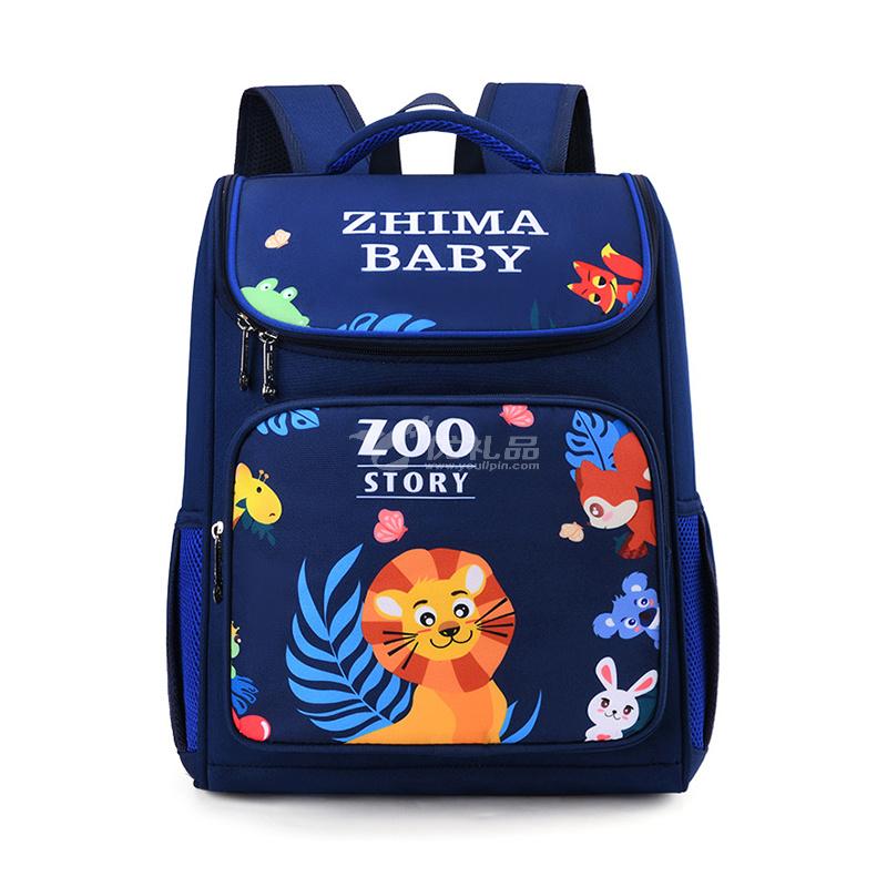 芝麻寶貝兒童卡通書包 可愛小學生防水輕便雙肩背包定制