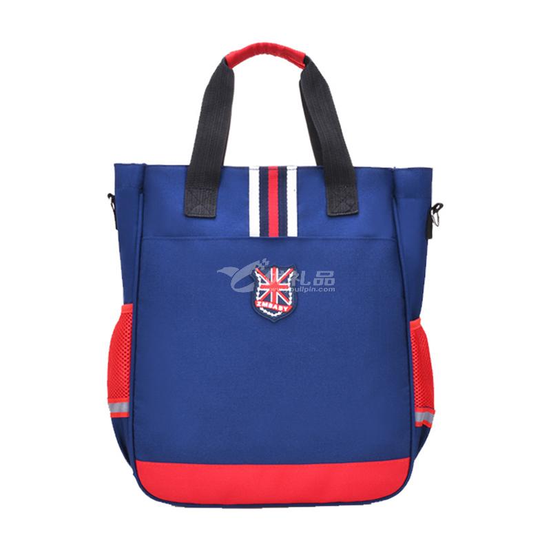 芝麻寶貝輔習班三用補習袋學生防水手提袋雙肩包定制
