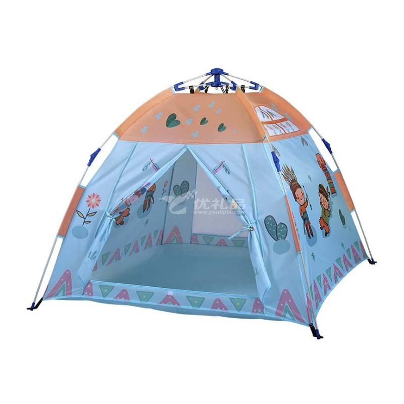 全自動室內外兒童帳篷兒童游戲帳篷定制