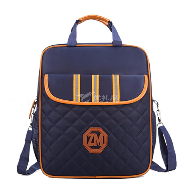 補習袋小學生手提袋拎書袋帆布兒童多功能補課包斜跨包定制