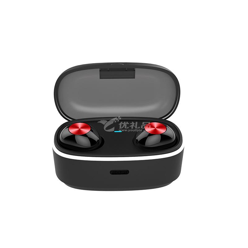 新款M76真無線藍牙耳機 TWS5.0雙耳立體聲入耳式金屬藍牙耳機定制