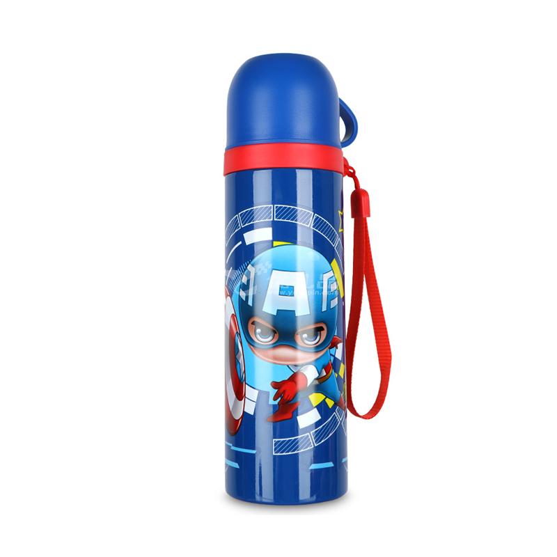 迪士尼真空雙層子彈頭 卡通可愛學生兒童便攜304不銹鋼保溫水杯定制