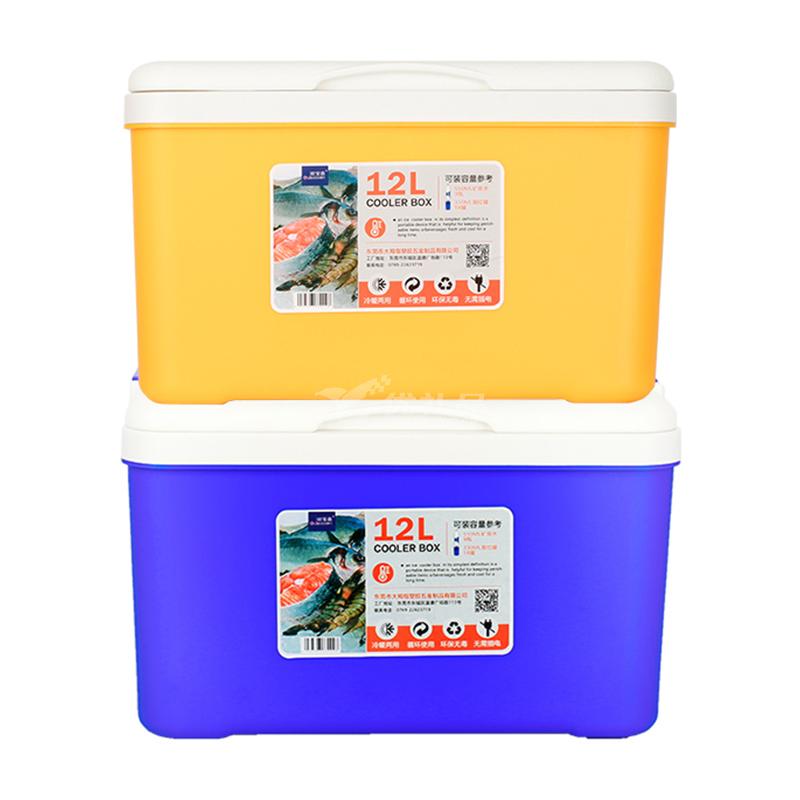 保温箱家用保冷箱12L 送餐保鲜箱户外食品冷藏箱外卖车载保温箱定制