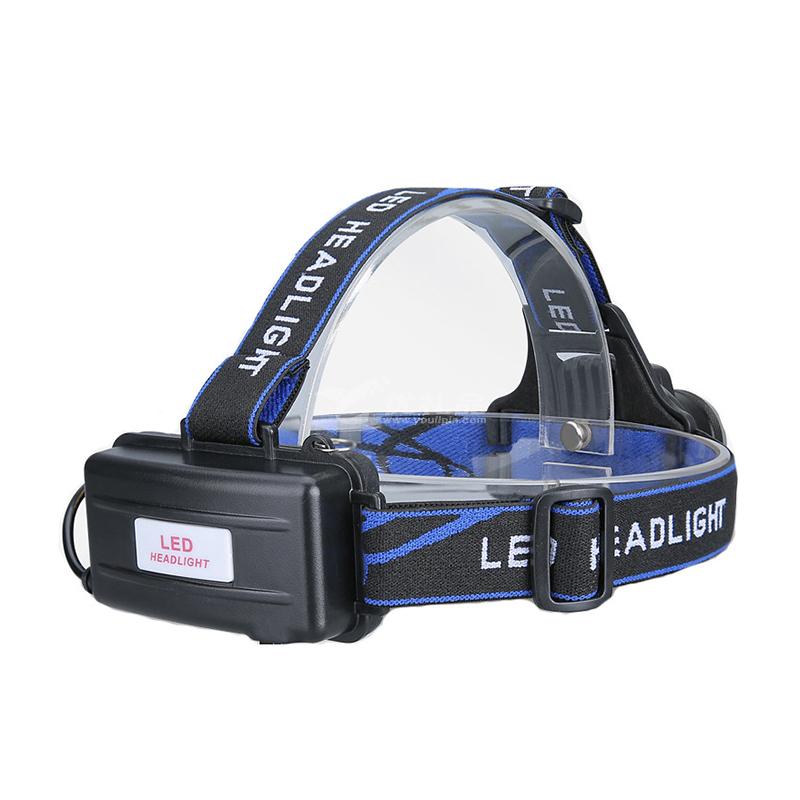 LED超亮强光灯T6大功率充电变焦野营灯户外防水感应钓鱼灯头灯定制